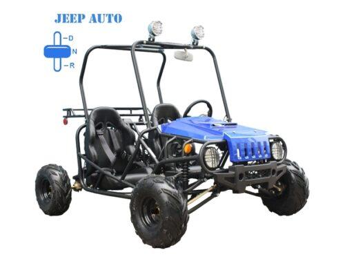 Jeep Auto blue