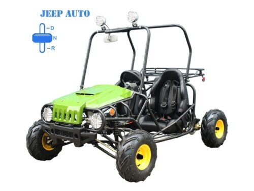 Jeep Auto green